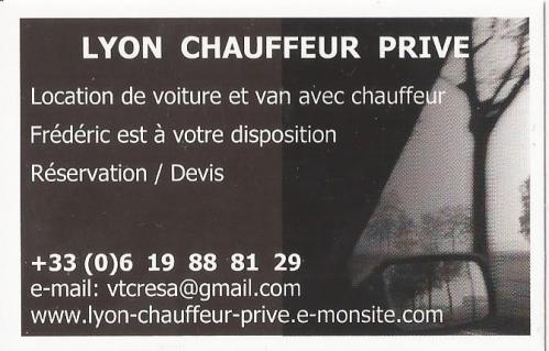 VTC LYON - CARTE DE VISITE