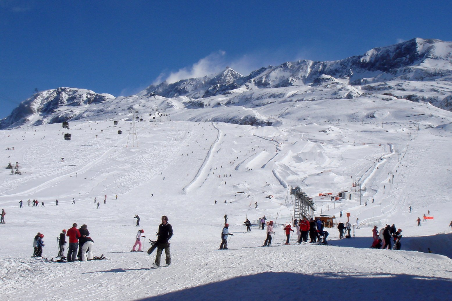 Transfert vtc de lyon vers station de ski