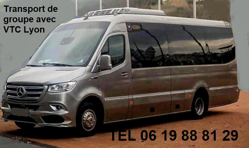 Bus mercedes 20 places partenaire vtc lyon