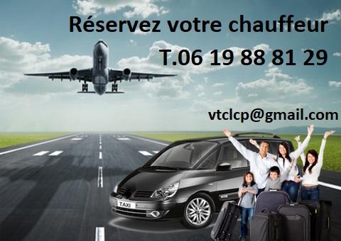 VTC St Vulbas chauffeur privé