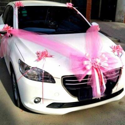 Chauffeur prive avec decoration et voiture pour mariage lyon