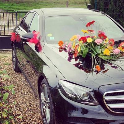 Chauffeur prive pour votre mariage en berline mercedes