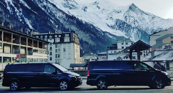 Chauffeur prive van lyon vers les stations de ski