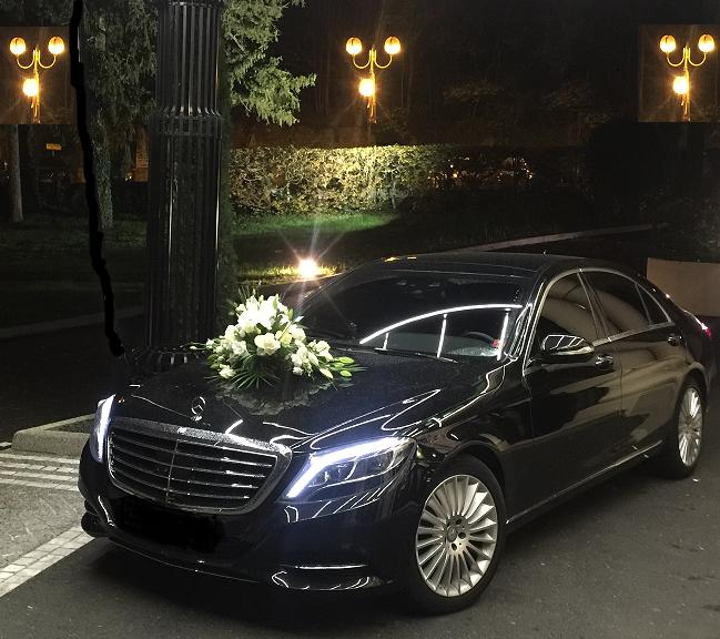 vtc lyon location de mercedes class s limousine avec chauffeur pour mariage. Black Bedroom Furniture Sets. Home Design Ideas