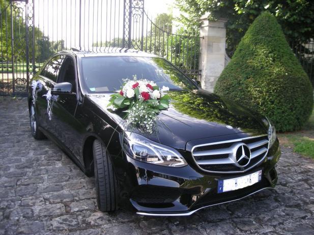Location de Mercedes classe E avec chauffeur pour mariage à Lyon