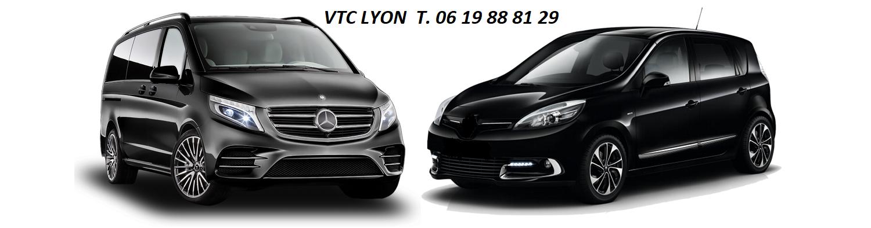 VTC LYON chauffeur taxi privé van et minibus
