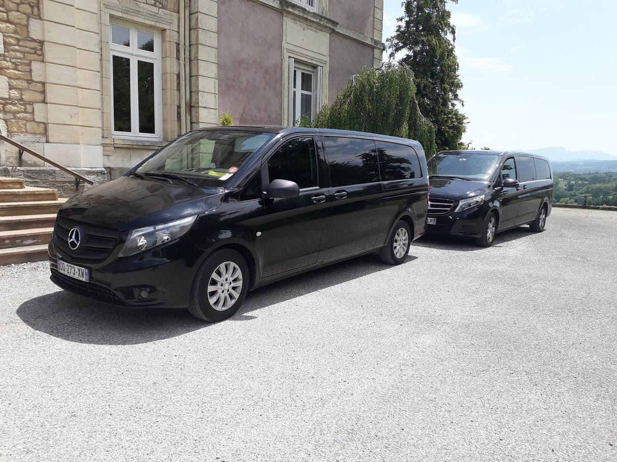 Service de vans avec chauffeur pour vos transferts dans les châteaux