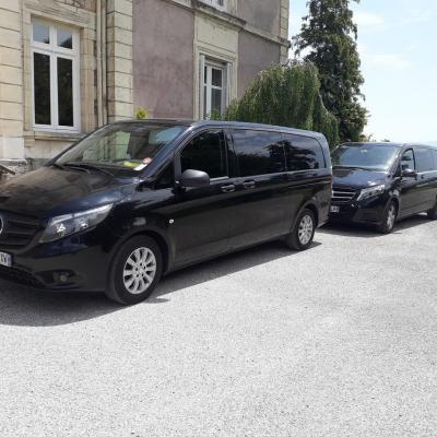 Service de vans avec chauffeur pour vos transferts dans les chateaux 1
