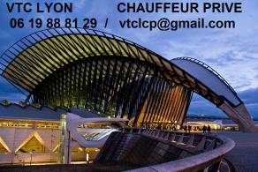 VTC Lyon navette aéroport Saint Exupéry chauffeur privé