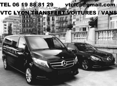 Vtc lyon mise a disposition de voitures et vans avec chauffeurs