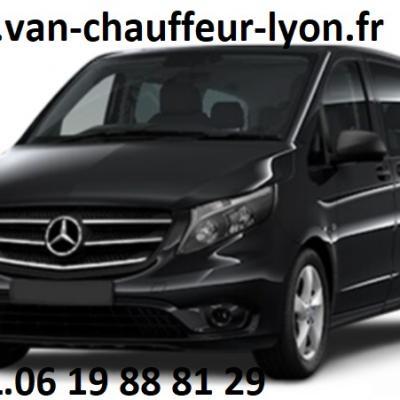 mise à disposition de van avec chauffeur à Lyon