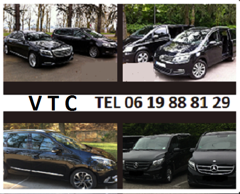 VTC chauffeur Lyon à Marseille ou Paris